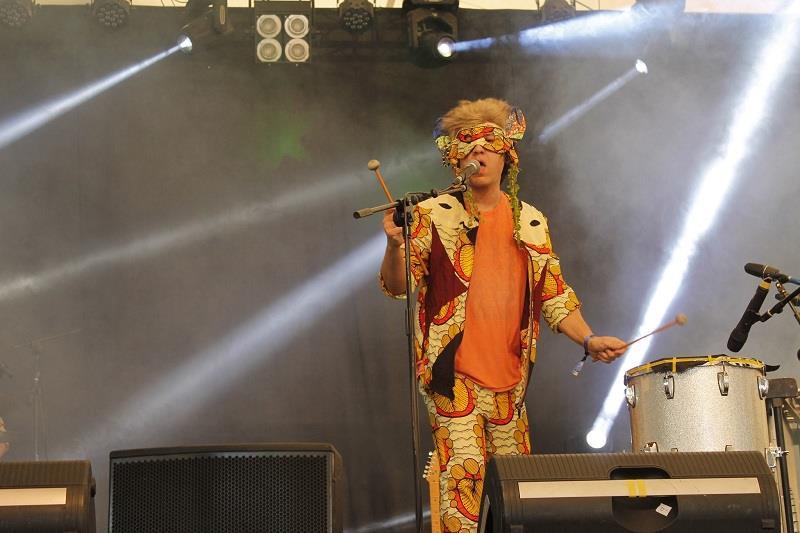 La banda Zulu Zulu en el escenario