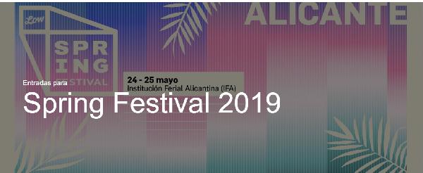 SPRINGFESTIVAL Alicante